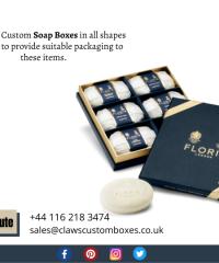 Unique Custom Soap Boxes Packaging